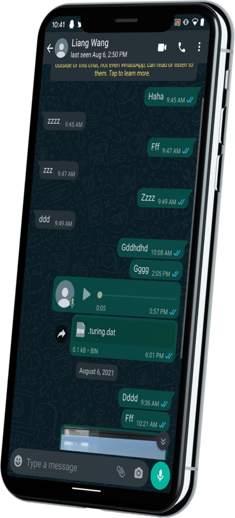 iSeeGuard for WhatsApp